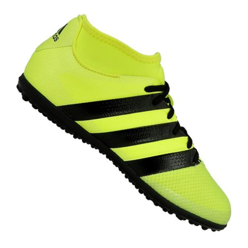 reputable site a3437 d1ded 3 Primemesh TF black white gold mens football shoes sneakers Masep Sports  Promotions Prodotto Adidas Primemesh Ace 16.3 Turf ...