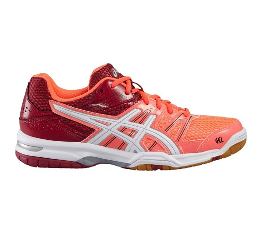 asics gel rocket rosse